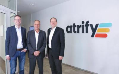 Personelle Erweiterung in der Geschäftsführung von atrify
