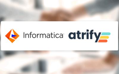 Informatica ist neuer zertifizierter Partner von atrify