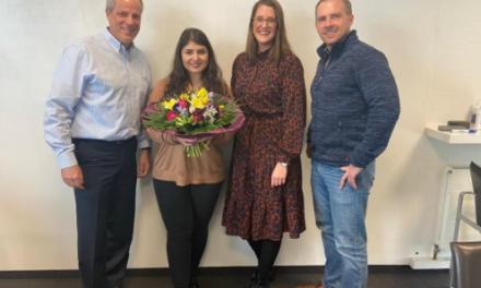 Das atrify-Team gratuliert Eleni Stavridou zur erfolgreich absolvierten Ausbildung