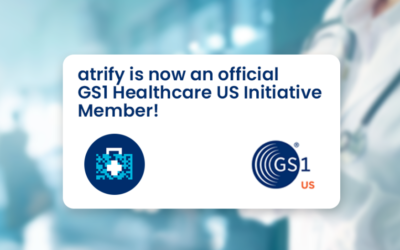 atrify ist ab sofort offizielles Mitglied der GS1 Healthcare US Initiative