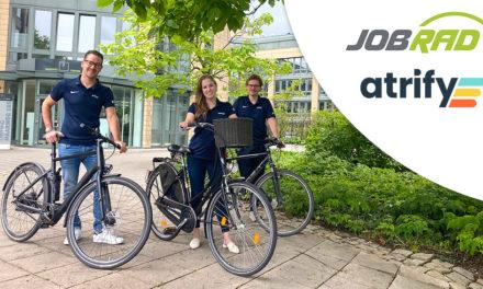 atrify goes green – JobRad für alle!