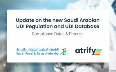 Update zur neuen saudi-arabischen UDI-Verordnung und UDI-Datenbank – Fristen und Verfahren