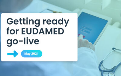 Getting ready for EUDAMED go-live in May 2021
