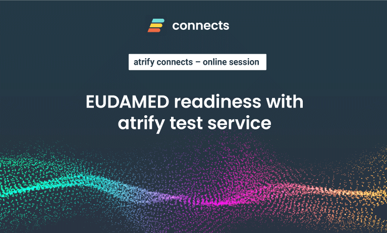 EUDAMED readiness with atrify test service