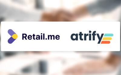 Partnerschaft zwischen Retail.me & atrify