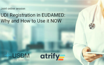 Joint Online Session: UDI Registration in EUDAMED – Why and How to Use It Now